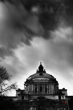 Methodist Central Hall in London weather (C) J. Rae Chipera all rights reserved.