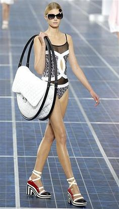 Chanel: Paris Fashion Week Spring/Summer 2013