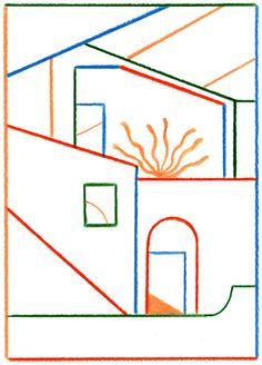 Linear - Daniel Clarke illustration