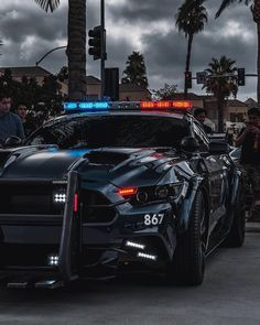 Barricade kingzwhips Photograph by jtaphoto ford mustang gt transformers Luxury Sports Cars, Best Luxury Cars, Sport Cars, Mustang Cars, Ford Mustang Gt, Ford Gt, Car Wheels, Sexy Cars, Police Cars