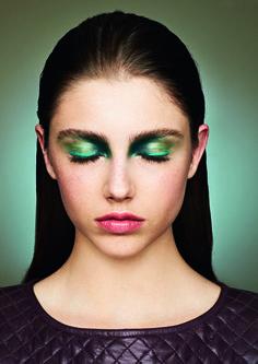 Conexão C.Kamura #7 - Beauty Celso Kamura - Modelo Daiane Meneghel - Foto Chris Parente #photo #girl #model #beautiful #hair #make #green #linda #fashion #top