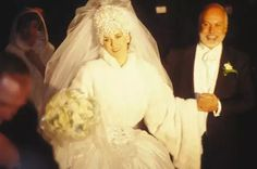 17TH DECEMBER 1994 - RENE ANGELIL & CELINE DION ARE MARRIED AT NOTRE DSME BASCILLICA IN MONTREAL, CANADA. THE COUPLE WILL BE WED FOR 21 YEARS UNTIL, UNTIL RENE'S DEATH FROM THROAT CANCER ON 14TH JANUARY 2016, IN LAS VEGAS, NEVADA, USA.