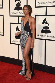 Ciara at Grammy 2016 wearing a ultra-mega-sexy Alexandre Vauthier dress