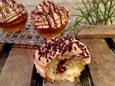Nutella Cupcakes- mit einem cremigen Frosting