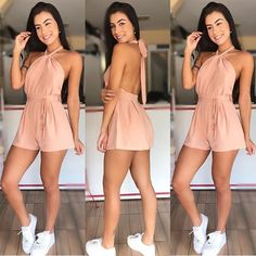 Awesome 39 outfit essentials you need for summer break http Cute Comfy Outfits, Cute Summer Outfits, Trendy Outfits, Fall Outfits, Mode Kylie Jenner, Cute Dresses, Short Dresses, Teen Fashion, Fashion Outfits