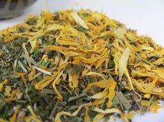 Happy Tummy Tea  an organic herbal tea to soothe by HappyEarthTea