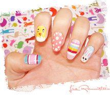 art, bunny, cute, easter - image #763760 on Favim.com