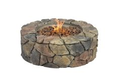 Best Choice Products Stone Design Fire Pit Outdoor Home Patio Gas Firepit Get together with friends/family around an elegant fireplace while enjoying a warm soothing fire Flame control adjustment knob One-step spark-ignition button Easy Fire Pit, Fire Pit Grill, Cool Fire Pits, Garden Fire Pit, Fire Pit Backyard, Backyard Kitchen, Fresco, Patio Gas, Patio Grill