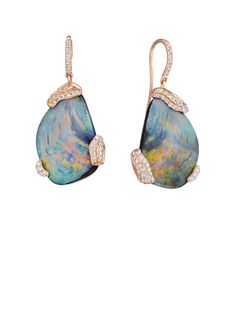 Mimi So: ZoZo Opal and Diamond Earrings