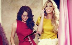 Blair & Serena #gossipgirl