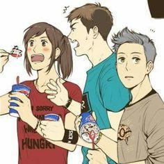 Sasha, Jean, and Connie