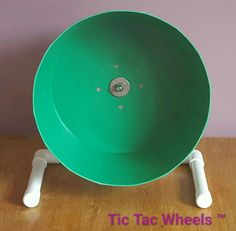 Green african pygmy hedgehog wheels at www.tictacwheels.co.uk