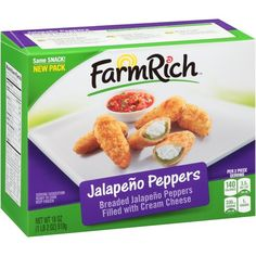 Farm Rich Jalapeño Peppers, the perfect snack for cheering on your home team.