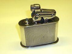 KW (KARL WIEDEN) SEMI-AUTOMATIC TABLE LIGHTER W. 835 SILVER CASE - 1930 -GERMAN Sammeln & Seltenes:Tabak, Feuerzeuge & Pfeifen:Feuerzeuge:Alt (vor 1970)