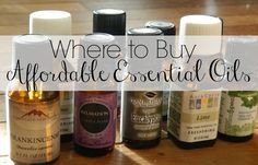 Where to by affordable essential oils. If you're like me you have chronic pain, illness, and mental illness too. I have found essential oils to be helpful but a few were given to me by a friend, I thought I couldn't afford to buy them. Here are some cheap places - hopefully they're quality, too! (PS peppermint for headaches/migraines, wintergreen for fibromyalgia pain, lavender for anxiety - all have been helpful for me)
