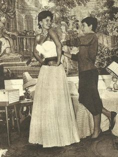 Sophia Loren and Maria (her sister)