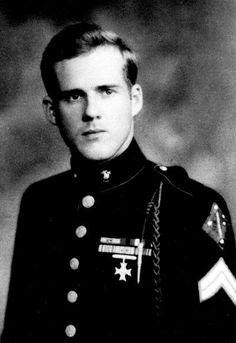 Eugene Sledge In 1981 Sledge published With the Old Breed: At Peleliu and Okinawa a memoir of his World War II service with the United States Marine Corps. In April 2007 it was announced that With the Old Breed along with Robert Leckie's Helmet for My Pil History Online, World History, World War Ii, Ww2 History, Eugene Sledge, Famous Marines, Military History, Military Art, Military Pins