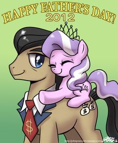 happy father's day 2012 by johnjoseco, MLP