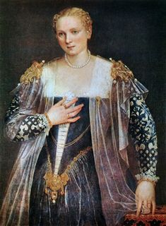 Ritratto di Gentildonna, Paolo Veronese (1560) Parigi, Museo del Louvre
