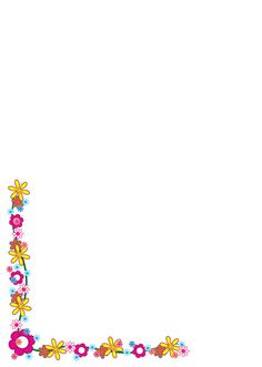 Bordes de hojas decorados - Imagui