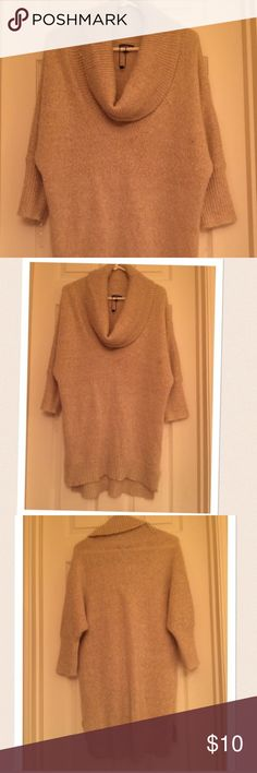 Express sweater Express sweater. Wore once. In great condition 3/4 sleeves Express Sweaters Cowl & Turtlenecks