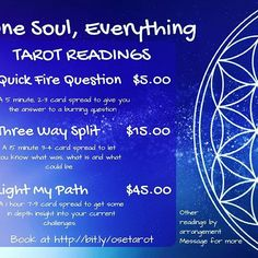 It's always great to get a heads-up. Book a reading with me http://bit.ly/osetarot