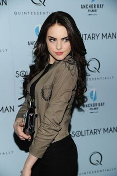 Elizabeth Gillies at event of Solitary Man