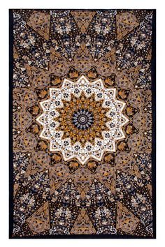 Indian Star Hippie Tapestry - Hanging Wall Art and Bed Spread - Measures 60x90 Inches $25.00