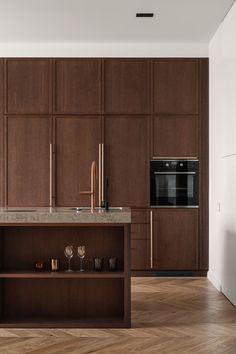 Condo Kitchen, Kitchen Decor, Kitchen Cabinets, Adobe Photoshop, Glass Partition, Furniture Handles, Wood Interiors, Autodesk 3ds Max, Small Apartments