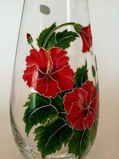Dragonfly vase fleur//table de Coupe Verre Cristal Vase Wildlife Cadeau