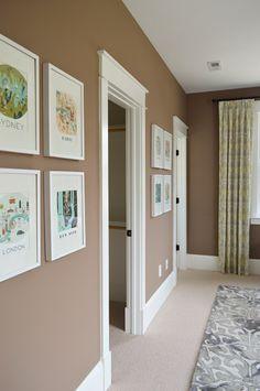 Showhouse guest room details, paint colors, and sources