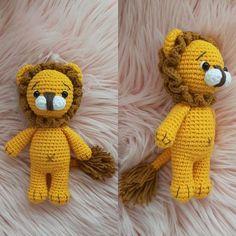 Amigurumi-little-lion-construction - Nice ideas Free Knitting, Knitting Patterns, Crochet Patterns, Totoro, Amigurumi Toys, Softies, Mother Bears, Crochet Animals, Lion