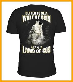 BETTER TO BE A WOLF OF ODIN - Wolf shirts (*Partner-Link)