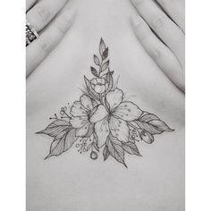 Sternum/Underboob Tattoo's