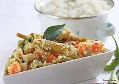 Paaka Shaale: Avial- Vegetables in coconut sauce