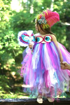 Tutu Dress & Mask Owl Mardi Gras Tutu and Mask For Baby Girl Toddler Child Baby Kostüm, Baby Girl Tutu, Child Baby, Mardi Gras Costumes, Owl Costumes, Purim Costumes, Crochet Mask, Crochet Owls, Owl Dress