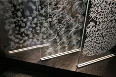 A few samples to help spruce up any office with decorative glass pieces.