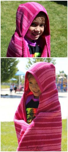DIY Hooded Towels in less than 15 Minutes!