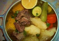 I am hungry! Thank God, I cooked this awesome Salvadoran oxtail and vegetables soup! Tengo hambre. Gracias a Dios cocine esta esta deliciosa sopa de cola de res! Me encanta la comida Salvadorena!