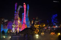 A look into Zigong Lantern Festival , a typical Chinese celebration that also includes dinosaurs in the South of Sichuan, a region in Southwest China.