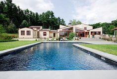 Swimming Pools Gallery - Geometric Minimalism | Custom Pools CT & NY