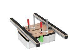 Festool Systainer, Workshop Design, Workshop Ideas, Aluminum Table, Bosch, Toolbox, Diy Tools, Diy Woodworking, Joinery