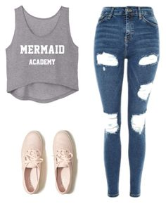 """""""Untitled #181"""" by missunicornpatch on Polyvore featuring Topshop and Hollister Co."""