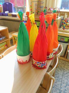 Welkom in ons klasje...: Paddestoelen en kabouters (deel 1) School, Creative, Party, Carnival, The Smurfs, Pixies, Parties