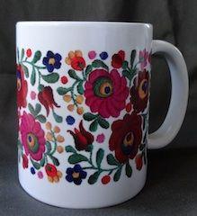 a matyo mug from magyarmarketing.com