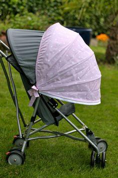 Sun shade for stroller / stroller canopy