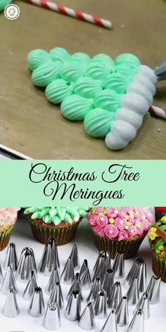Xmas Food, Christmas Desserts, Christmas Treats, Christmas Baking, Cake Icing, Frosting, Cupcake Cakes, Easy Cake Decorating, Cake Decorating Techniques