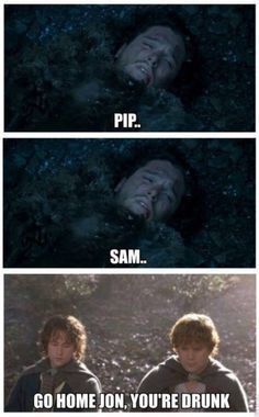 Jon Snow knows nothing...
