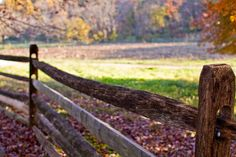 The farm at Holmdel park in the Fall.