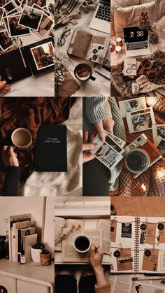 Brown Aesthetic, Aesthetic Themes, Aesthetic Collage, Aesthetic Pastel, Aesthetic Vintage, Iphone Wallpaper Landscape, Iphone Wallpaper Glitter, Tumblr Wallpaper, Wallpaper Backgrounds